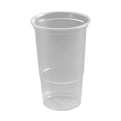Pint Tumbler (To Line) PP Clear Image
