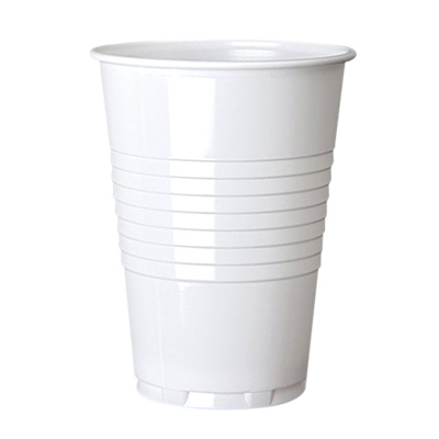 7oz PS Tall White Vending Cup Image