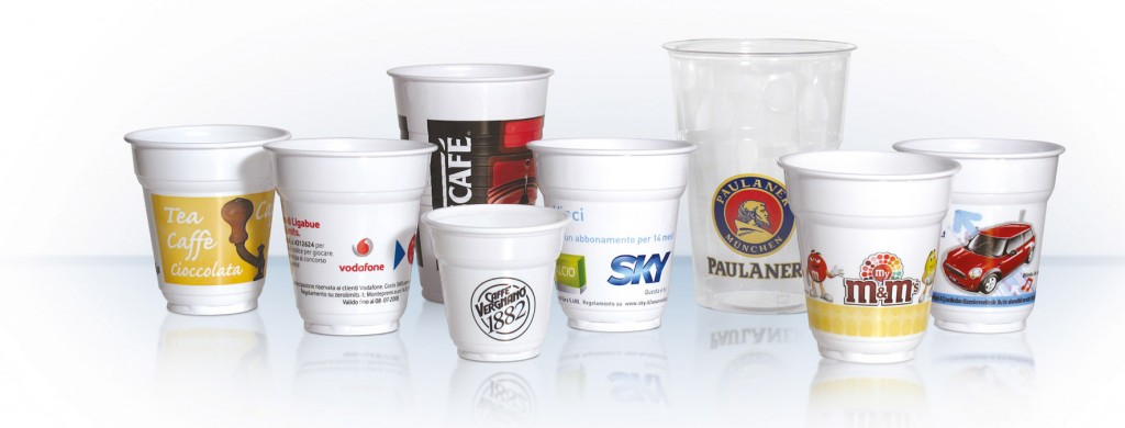 Wide selection of custom printed plastic cup options